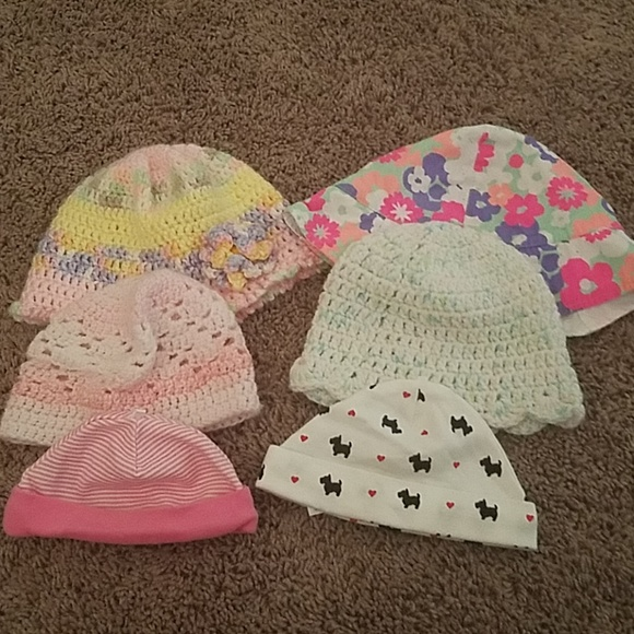 Other - Baby girl hats